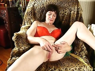 Nasty Old Spunker Loves To Fuck Her Soaking Humid Labia Four U