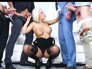 Captivating Buxom Hooker Blanche Bradburry Takes Part In Crazy...
