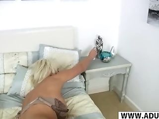 Horny Stepmother Jan Burton Gives Hand Jobs Hot Youthfull Step Sonny