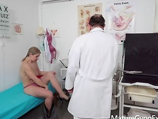 Horny Mommy Examined And Made To Jism By Weird Medic