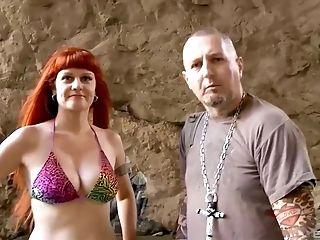 Four-way Fucking On A Beach With Olga Cavaeva And Gina Snake