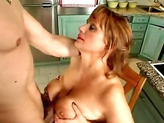 Huge-titted Mummy Gets It In Her Arse