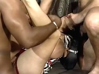 Explosive Massive Matures Tits Jizm Showered Group Sex