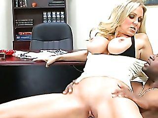 Big-boobed Blonde Chief Julia Ann Gets Kinder Seen Hard Boner Big...