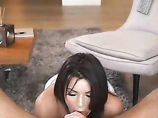 Fantastic Boob Fucking Is Provided By Darn Appetizing Big Titted...