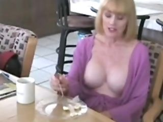 Mom Seduced And Fucked In Kitchen