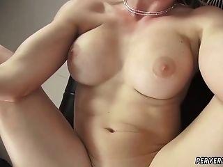 Massive Natural Tits Cougar Cory Chase