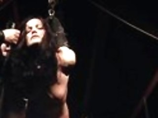 Damsel in distress hard disciplined in domination & submission