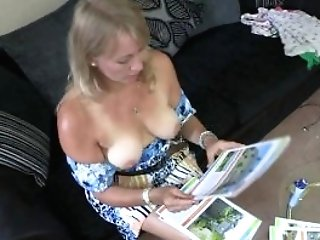 Melissa Blonde Matures Lady Is Too Hot So She Shows Her Cupcakes To...