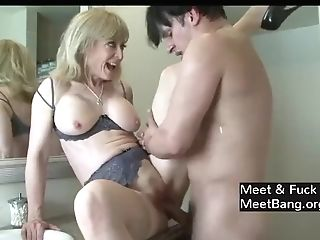 Horny Mom Entices Sonnie's Friend!!!