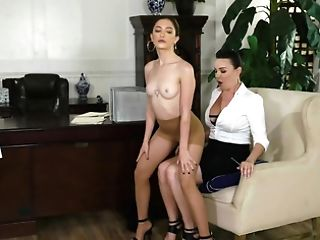Mummy Dana Dearmond And Nubile Jane Wilde Have Girl-on-girl...