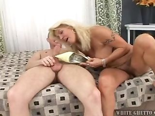 Matures Woman With Big Titties & Hairy Labia.