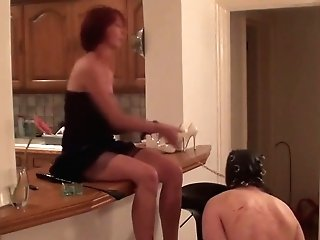 Matures Lady Playing A Sub Hard