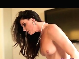 Glam Cougar Plays With Fucktoys Then Rails Shaft
