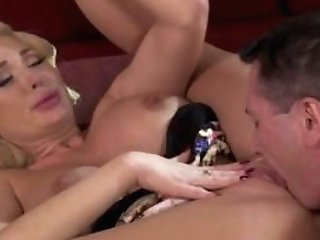 Chesty Cougar Hook-up With Jizz Shot