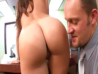 Horny Assistant Bella Rey Is Hungry For Meaty And Saucy Dick Of Her...
