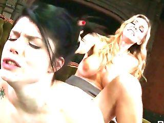 Orgy-thirsty Girly-girl Mummy Tanya Tate Is Eating Fresh Fuckbox Of...