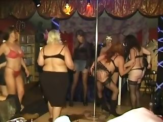 Lots Of Obese Nymphomaniacs Attempt Out To Look Hot Near The Pole...