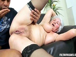 Granny Marimar Has A Fine Time With A Black Deviant Paramour