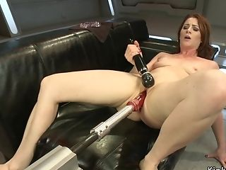 Bum Plugged Housewife Fucks Love Making Playthings
