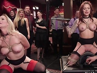 Honeys Serving And Humping At Domination & Submission Soiree