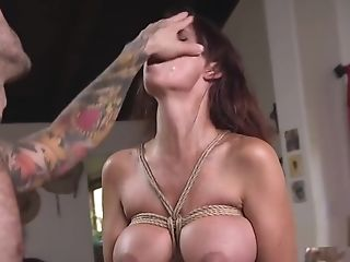 Tattooed Man Submits And Fucks Mom And Nubile