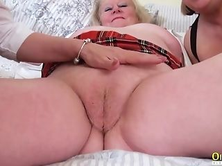Oldnanny Matures Threesome Lezzy Getting...