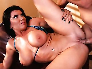 Ardent Buxomy Whore Romi Rain Senses Awesome Every Time She Rails...