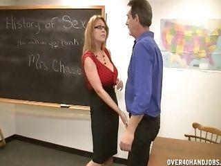 Big Titties Matures Angie Niore And Charlee Chase Pleasing One Dude