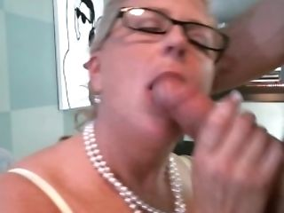 Cougar Bj's Fuck-sticks And Gets Doouble Foray