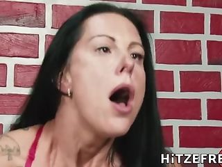 Hitzefrei Texas Patti Screams While Being Pounded By A Big...