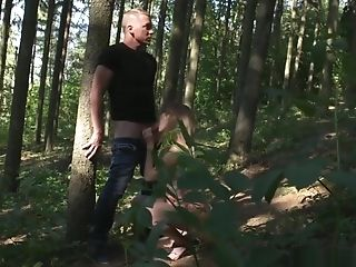 Mom Horny Duo Oral Job Outdoors Numerous Orgasms