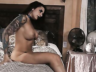 Buxom Sexy Lady Ivy Lebelle Is Leaned Forward And Fucked From Behind