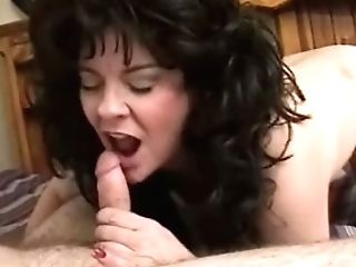 Matures Chesty Wifey With Weird Hairdo Is Glad To Suck Delicious...