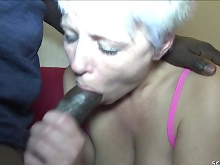 German Mom Book Black Callboy With Monster Man Meat To Fuck Her