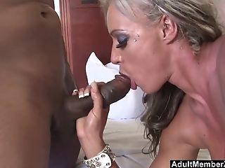 Big Titted Mummy Thirsts Black Man Rod