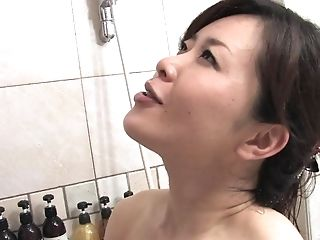 Bathroom Fuck Is All A Perverted Japanese Woman Wants From Her...