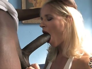 Tempting Mummy With Delicious Big Tits Gets Fucked By Black Stud