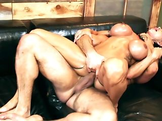 Whorish Cougar Is Banged In Every Fuck Hole By Two Massagists