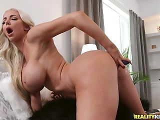 Buxom Barbie Nicolette Shea Likes To Jism With Her Fave Plaything...