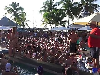 Dantes Pool Soiree At Fantasy Jamboree Key West Florida