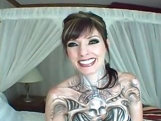 The Greatest Point Of View Act With Sexy Tattooed Mummy