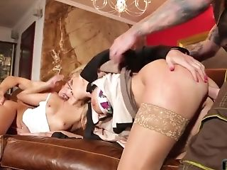 Amira Adara Crazy 4 Way Hookup Movie