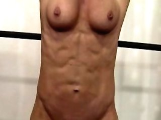 Matures Blonde With Killer Assets Working Out