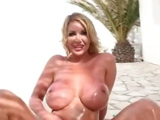 Leigh Darby Oiling Up