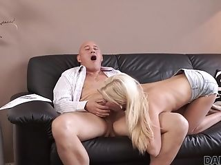 Daddy4k. Attractive Nubile Attempts Nasty Fuckfest With Bf's...