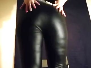 Point Of View German Booty Leather Thrash Taunt