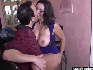 Huge-boobed Dark-haired Persia Monir Is The Real Master Of...
