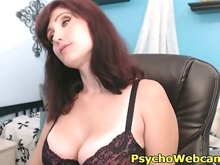 Big-titted Cougar Masturbating And Shrieking