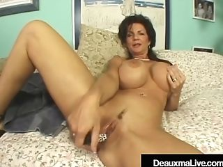 Texas Cougar Deauxma Is Butthole Banged By A Hard Weenie!